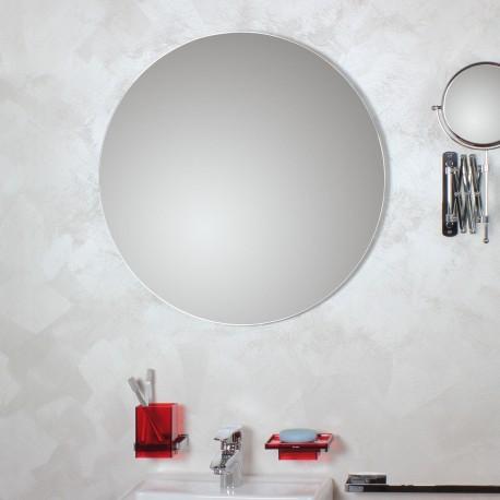 Specchio tondo filo lucido Ø80.