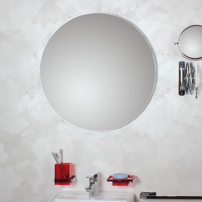 Specchio tondo filo lucido koh i noor shop for Specchio tondo bagno