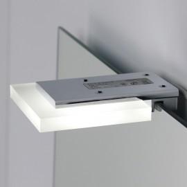 LAMPADA APPLIQUE PER SPECCHIO QUADRA A LED