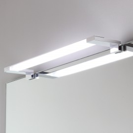 LAMPADA APPLIQUE PER SPECCHIO A LED CROMATA