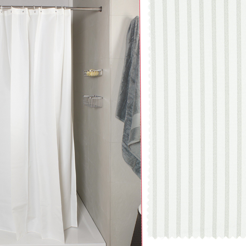 Tenda Per Doccia Verga Bianco Misura 180x200 Koh I Noor Shop