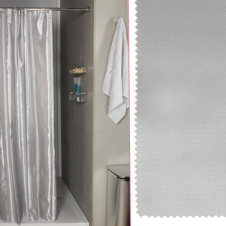Tenda Per Doccia Midas Argento Misura 180x200 Koh I Noor Shop