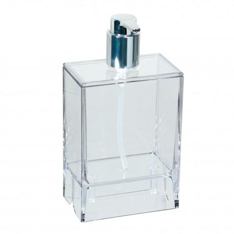 Dispenser sapone da muro Lem trasparente.