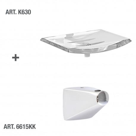 Supporto per accessori a parete serie Fusion tassello.