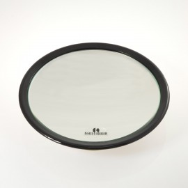 Specchio ingranditore con 3 ventose. Ingrandimento x3 Ø23cm.Colore nero.
