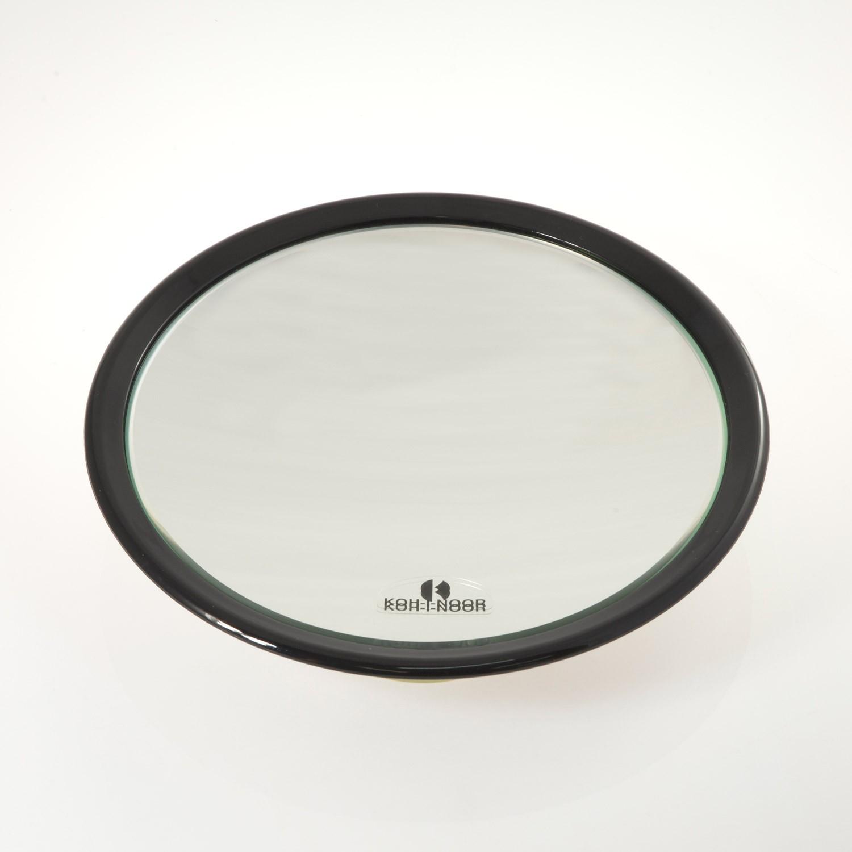 Specchi Ingranditori A Ventosa.Specchio Ingranditore Con 3 Ventose Ingrandimento X6 O23cm Colore Nero Koh I Noor Shop