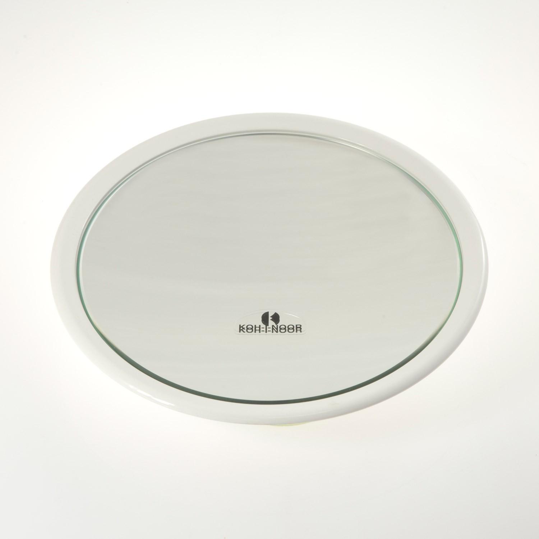 Specchi Ingranditori A Ventosa.Specchio Ingranditore Con 3 Ventose Ingrandimento X3 O23cm Colore Bianco