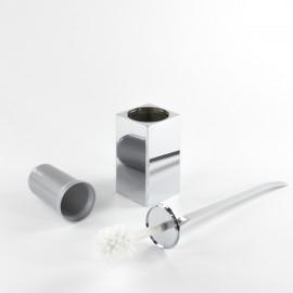 Scopino bagno sospeso Lem 2.0 cromo tassello.