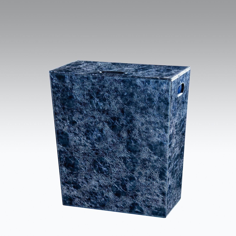 Cesto Porta Biancheria Medio Lakka Colore Blu Koh I Noor Shop