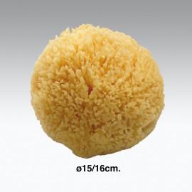 Spugna da bagno naturale ø15-16 cm.
