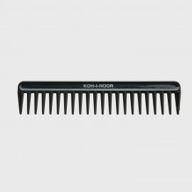 Pettine radone. Perfetto per capelli bagnati e ricci. Colore nero.