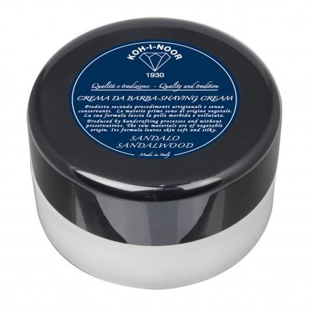 Crema da barba al Sandalo contenitore plexy Gr.150