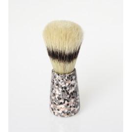 Pennello da barba in setola naturale Ø 21mm.