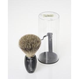 Pennello da barba in pelo di tasso di II° scelta Ø 21mm.