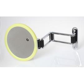 Specchio bifacciale da muro. Ø18cm. Ingrandimento x3