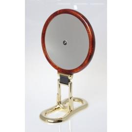 Specchio bifacciale con manico. Ø18cm. Ingrandimento x3