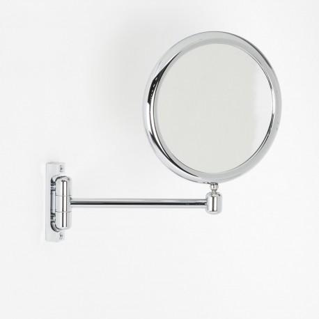 Specchio Ingranditore Da Bagno.Specchio Ingranditore X6 Tondo Bifacciale Da Muro Cromoo23 Con 1 Braccio