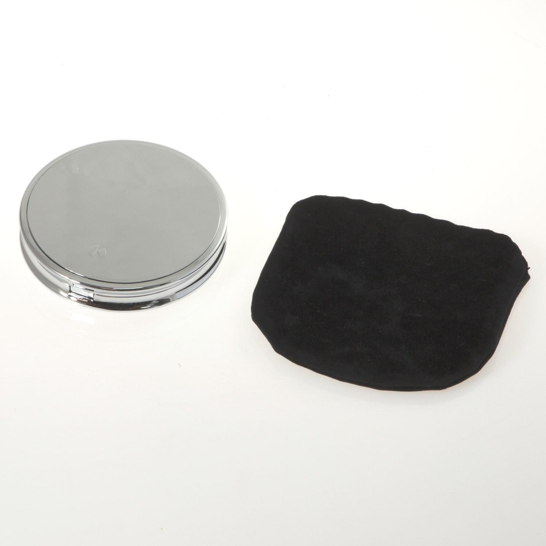 Specchio da borsetta cromato con ingrandimento su - Specchio ingrandimento ...