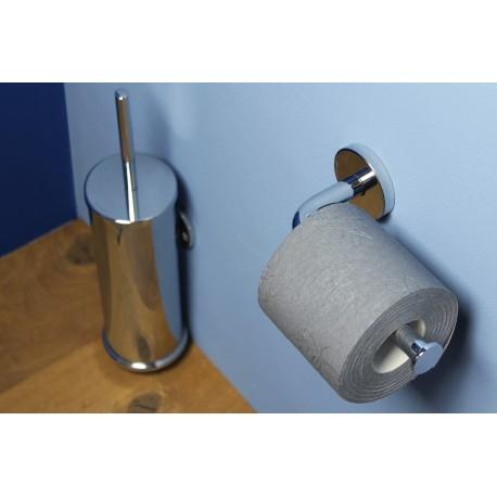 Porta carta igienica serie Tubina incollo o tassello.