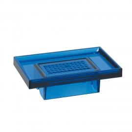 Porta sapone blu per supporto a parete 5908 - 6208 - 6308.