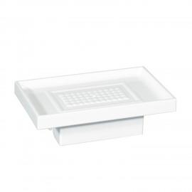 Porta sapone bianco per supporto a parete 5908 - 6208 - 6308.
