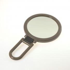 Specchio ingranditore bifacciale da tavolo (Ingrandimento x6) tortora ø14cm.