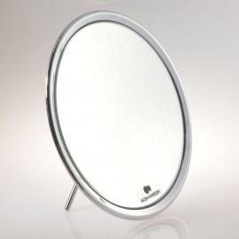 Specchio ingranditore da tavolo (Ingrandimento x6) cromato ø23cm.