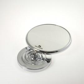 Specchio ingranditore bifacciale da tavolo (Ingrandimento x3) cromato ø18cm.