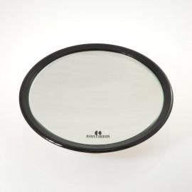 Specchio ingranditore con 3 ventose. Ingrandimento x6 Ø23cm.Colore nero