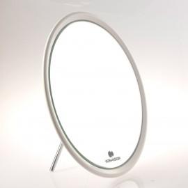 Specchio ingranditore da tavolo (Ingrandimento x6) bianco ø23cm.