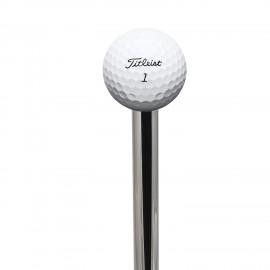 Scopino a  terra FRAC manico con pomolo a pallina da golf.