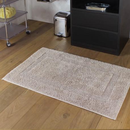 TAPPETO CLASSIC reversibile misura 60x100cm. Colore marrone scuro.