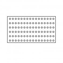 Tappeto antiscivolo misura 60x80