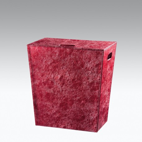 Porta biancheria grande LAKKA . Colore rosso.