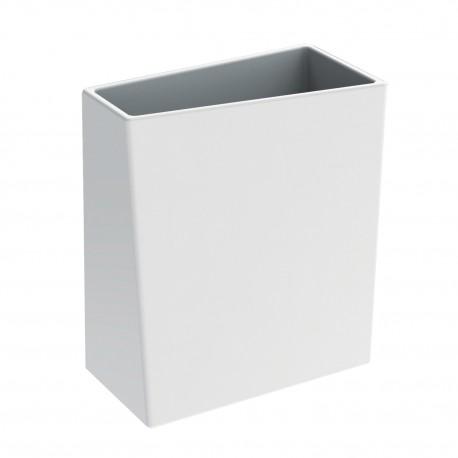 BATHMAN Bicchiere porta spazzolini in ceramica, di colore bianco