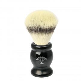 Pennello da barba in tasso sintetico ø21,5 manico colore nero