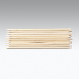 Bastoncini spingi pelli in legno.