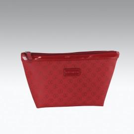 Beauty-Porta trucco Barchetta  misura Media Rosso porpora