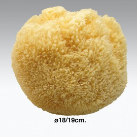 Spugna da bagno naturale ø18-19 cm.