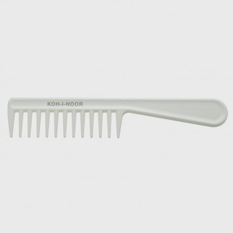 Pettine radone con manico. Perfetto per capelli bagnati e ricci. Disponibile in 4 colorazioni.