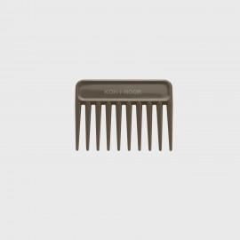 Pettine radone piccolo. Perfetto per capelli bagnati e ricci. Colore Sabbia.