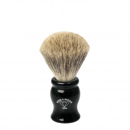 Pennello da barba in I° Ø19 nero.