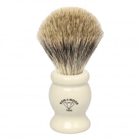 Pennello da barba in I° Ø22,5 avorio.