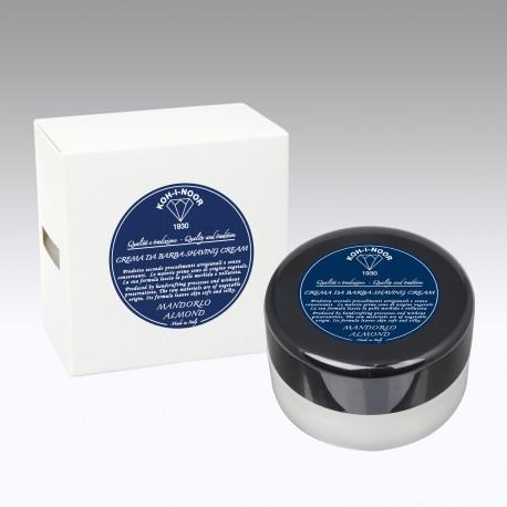 Crema da barba al Mandorlo contenitore plexy Gr.150
