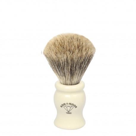 Pennello da barba in I° Ø19 avorio.