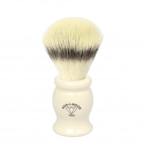 Pennello da barba in tasso sintetico ø21,5 manico colore Avorio