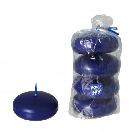 4 candele profumate