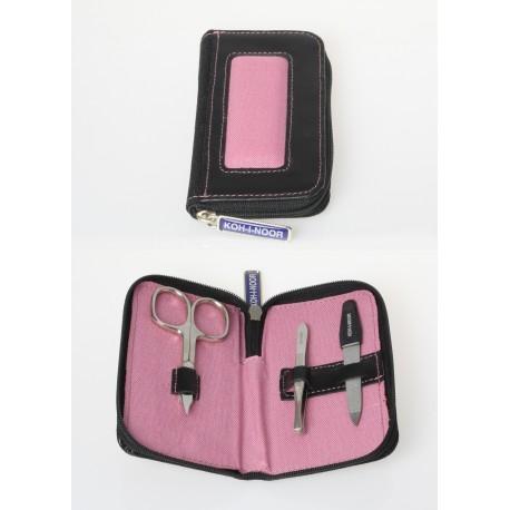 Set manicure in goretex rosa