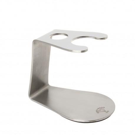 Porta pennello e rasoio in acciaio inossidabile adatto a tutti i diametri dei pennelli Koh-I-Noor (Solo supporto)