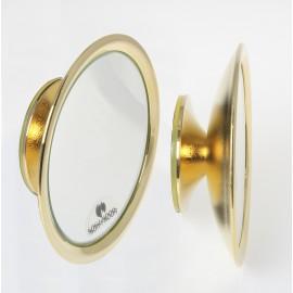 Specchio ingranditore x2, Ø14cm con ventosa.